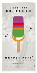My Muppet Ice Pop - Dr Teeth Beach Towel