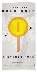 My Nintendo Ice Pop - Gold Coin Beach Towel