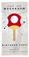 My Nintendo Ice Pop - Mushroom Beach Towel