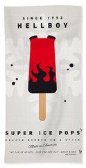 My Superhero Ice Pop - Hellboy Beach Towel