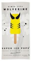 My Superhero Ice Pop - Wolverine Beach Towel