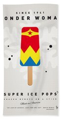 My Superhero Ice Pop - Wonder Woman Beach Sheet