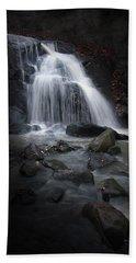 Mysterious Waterfall Beach Sheet