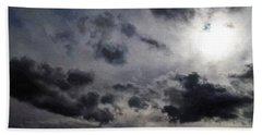 Mystery Of The Sky Beach Towel