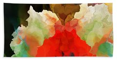 Beach Towel featuring the digital art Mystic Bloom by David Lane