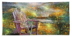 Mystical Sam On Topsail Beach Towel