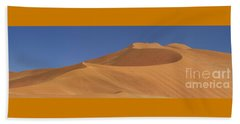 Namibian Desert Beach Towel by Richard Garvey-Williams