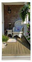 Nantucket Porch Beach Sheet