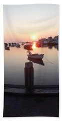 Beach Towel featuring the photograph Nantucket Sunrise 2 by Robert Nickologianis