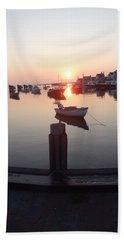 Beach Sheet featuring the photograph Nantucket Sunrise 2 by Robert Nickologianis