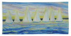 Nantucket Sunrise Beach Towel