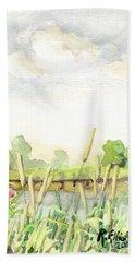 Napanee River West Beach Towel