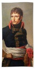 Napoleon Bonaparte As First Consul Beach Sheet