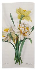 Narcissus Gouani Beach Towel
