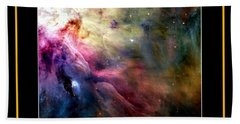 Nasa Ll Ori And The Orion Nebula Stars Of Heaven Bless The Lord Beach Towel