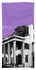 Nashville Skyline Belle Meade Plantation - Violet Beach Towel