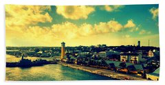 Nassau The Bahamas Beach Towel