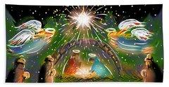 Nativity Beach Sheet