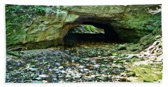 Natural Rock Bridge Beach Towel