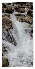 Naturally Pure Waterfall Beach Towel