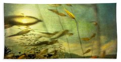 Nature #12. Strong Wind Beach Towel