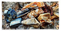 Nature Rocks Beach Towel by Peggy Franz