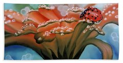 Natures Blessings Beach Towel by Dianna Lewis