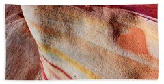 Nature's Valentine Beach Towel