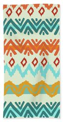 Navajo Missoni I Beach Sheet by Nicholas Biscardi