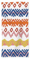 Navajo Missoni IIi Beach Towel
