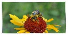 Need More Pollen Beach Towel by Jim Hogg