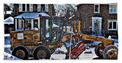 Neighbourhood Snowplough Beach Towel