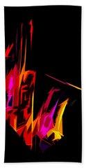 Neon Sax Beach Sheet