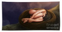 Nesting Woman Beach Sheet
