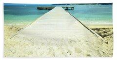 Nettle Bay Dock Beach Towel