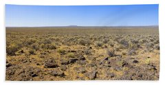 Beach Sheet featuring the photograph Nevada Desert Panorama by Mark Greenberg