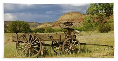 New Photographic Art Print For Sale Ghost Ranch New Mexico 13 Beach Towel