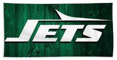 New York Jets Barn Door Beach Towel