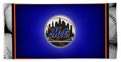 New York Mets Beach Towel