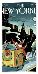 New Yorker December 15, 2008 Beach Towel
