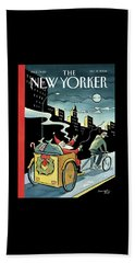 New Yorker December 15, 2008 Beach Towel