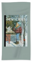 New Yorker February 5th, 2007 Beach Towel