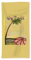 New Yorker January 5th, 1957 Beach Towel