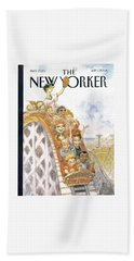 New Yorker July 1st, 2002 Beach Towel