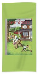 New Yorker July 3rd, 1937 Beach Towel
