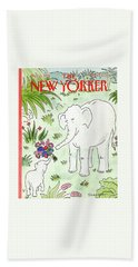 New Yorker May 11th, 1992 Beach Towel
