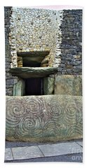Newgrange Entrance Beach Towel