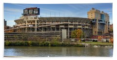Neyland Stadium Beach Towel