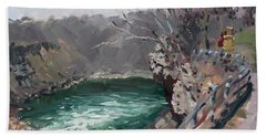 Niagara Falls Gorge Beach Towel