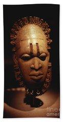 Nigerian Ivory Mask Beach Towel
